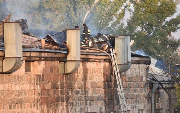 У Єревані сталася пожежа на даху парламенту