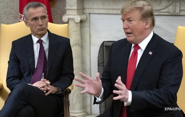 Трамп зустрінеться з генсеком НАТО Столтенбергом