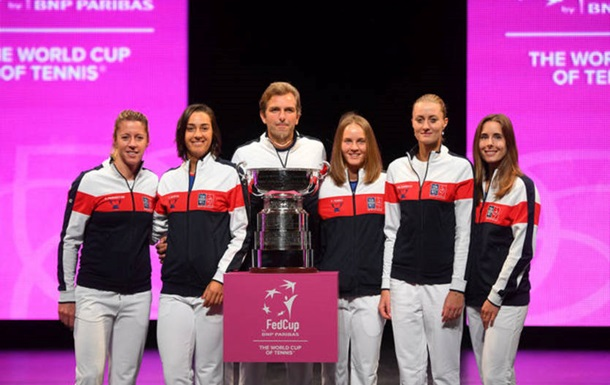 Сборная Франции по теннису стала победителем Кубка Федерации