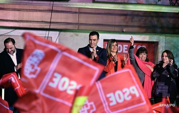 На виборах в Іспанії перемогла соцпартія