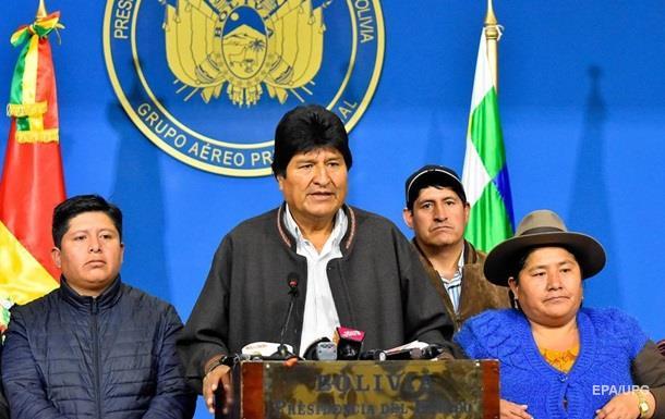 Мексика предложила убежище экс-президенту Боливии