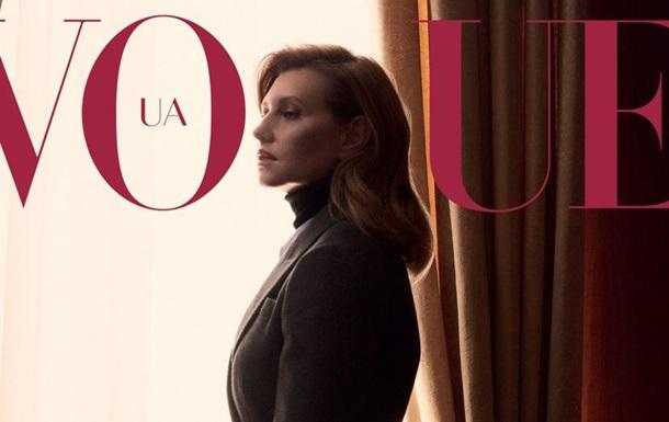Олена Зеленська знялася для обкладинки Vogue