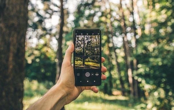 В Україні стартував проект Ліс у смартфоні