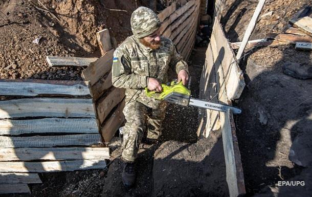У Золотому демонтують фортифікаційні споруди