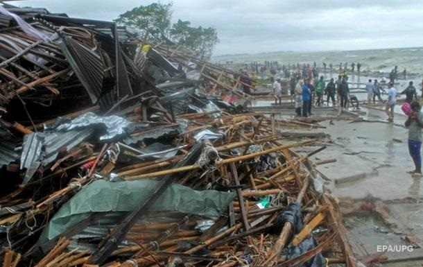 Жертвами циклону в Бангладеш стали майже 30 людей