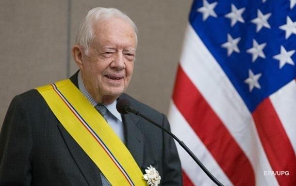 Госпитализирован экс-президент США Джимми Картер