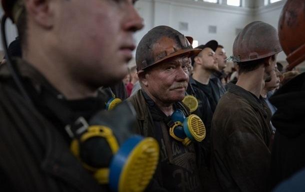 На Луганщине шахтеры устроили протест под землей
