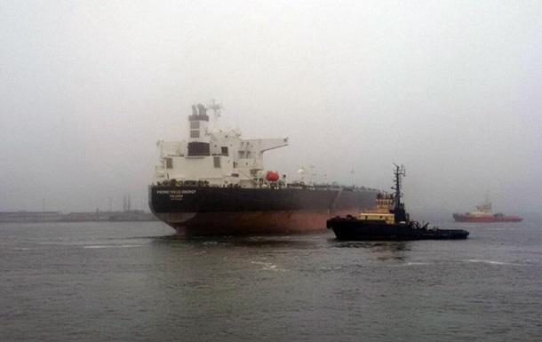 В морпорт Одессы впервые прибыла нефть из Ливии