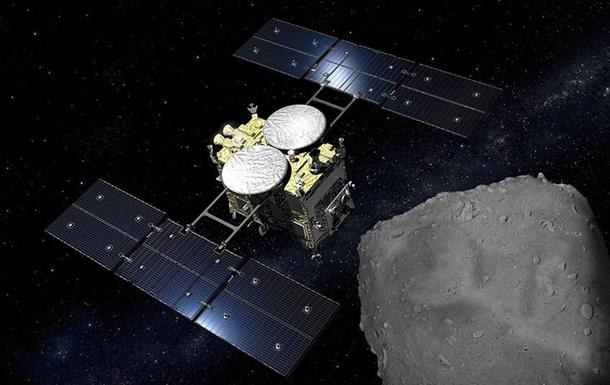 Японський зонд залишив астероїд Рюгу