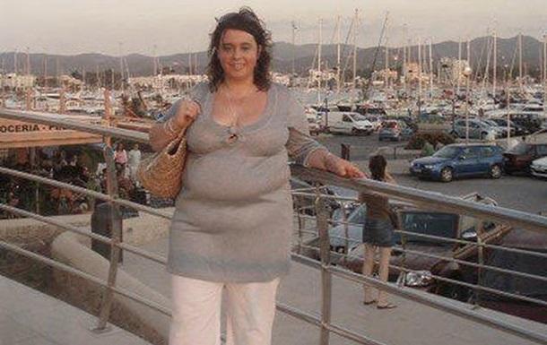 Англичанка похудела на 70 кг и пожалела