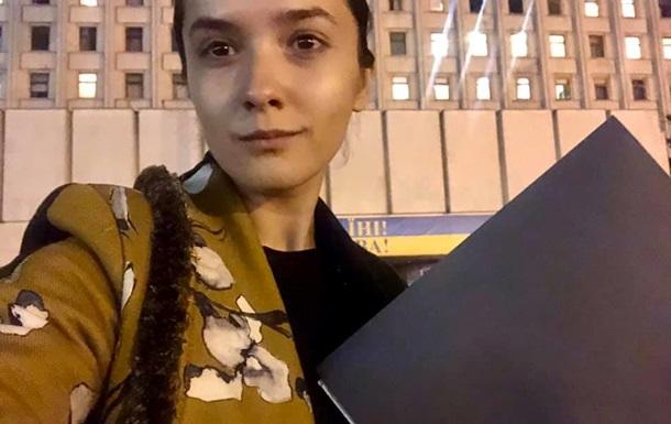 Кандитат в нардепы объяснила, почему уступила место Вятровичу в Раде