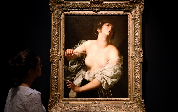 Картина Лукреція Джентілескі пішла з молотка майже за п ять мільйонів євро