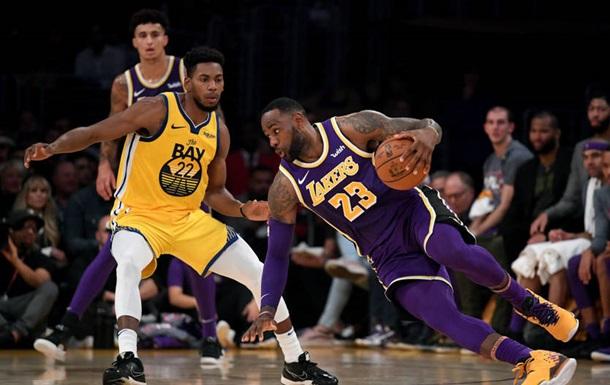 НБА: Лейкерс обіграли Голден Стейт, Кліпперс поступилися Х юстону