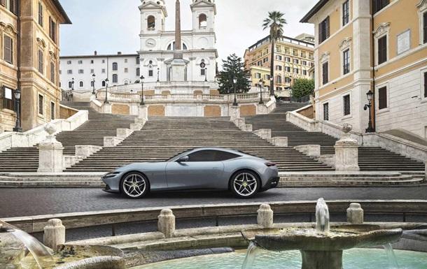 Ferrari представив новий спорткар Roma