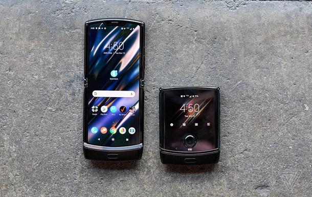 Motorola показала обновленную  раскладушку  Razr