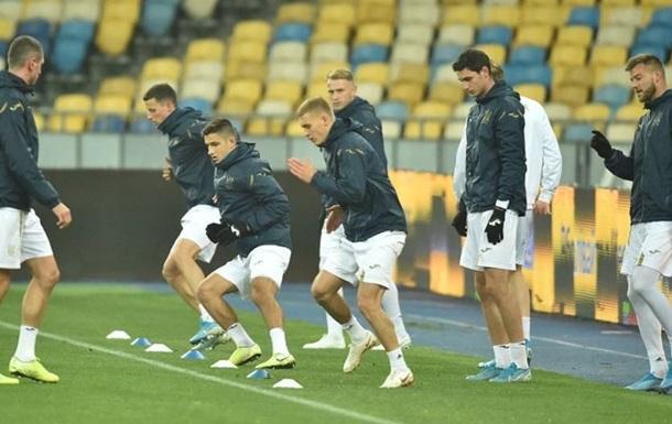 Збірна України оголосила заявку на матч з Естонією