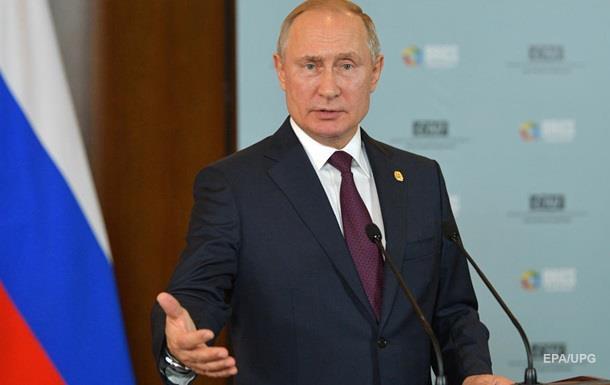 Путін: У формулі Штайнмаєра немає нічого змістовного