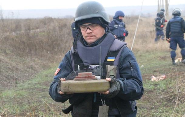 Біля Петрівського знайшли 19 вибухонебезпечних предметів
