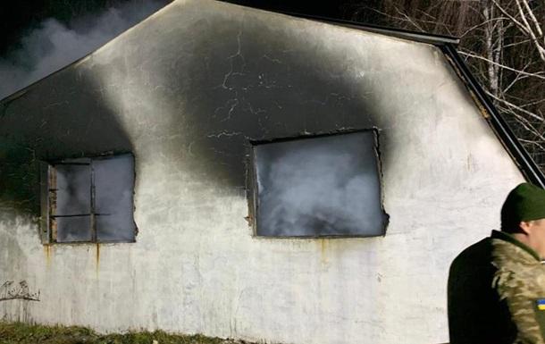 Названо три версії пожежі на військовому складі у Вінницькій області