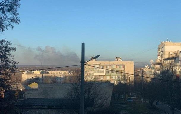 На складах в Балаклее прогремели взрывы