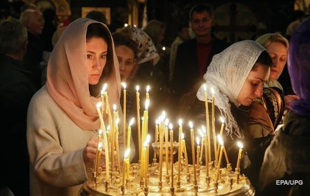 Все меньше украинцев верят в Бога - опрос