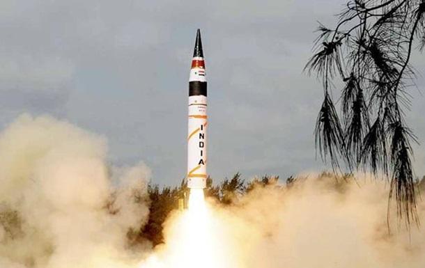 Индия испытала баллистическую ракету, способную нести ядерный заряд