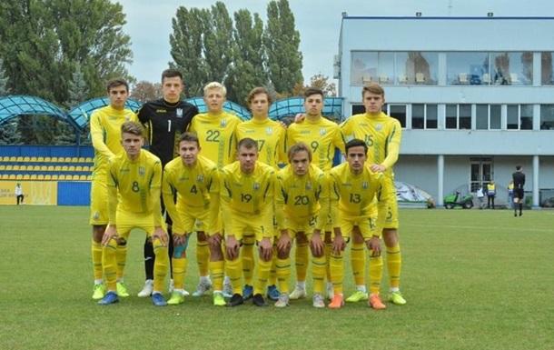Україна U-19 зіграла внічию зі Словенією у кваліфікації Євро-2020