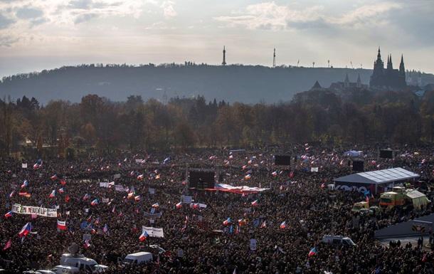 Сотні тисяч протестувальників висунули ультиматум прем єру Чехії
