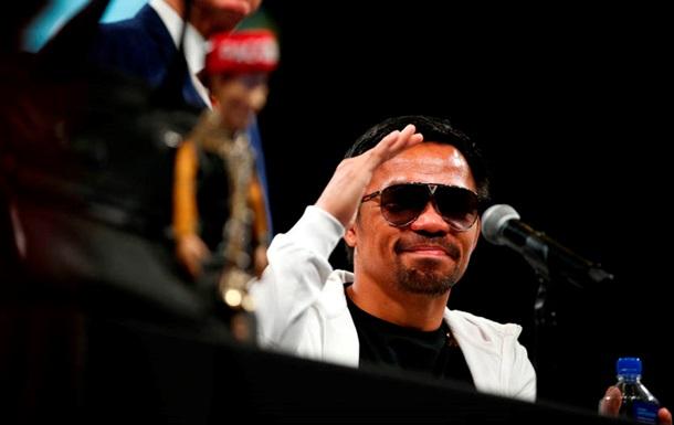 Пакьяо рассказал, когда вернется в ринг