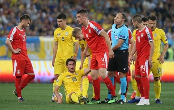 На матч Сербія - Україна продано всього 7 тисяч квитків