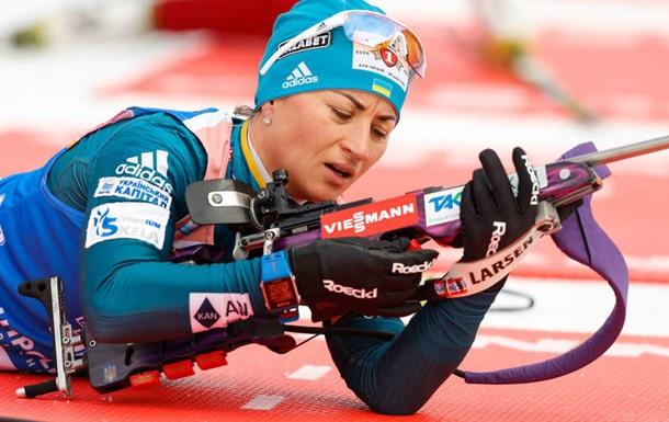 Валя Семеренко показала лучший результат среди украинок в масс-старте в Шушене