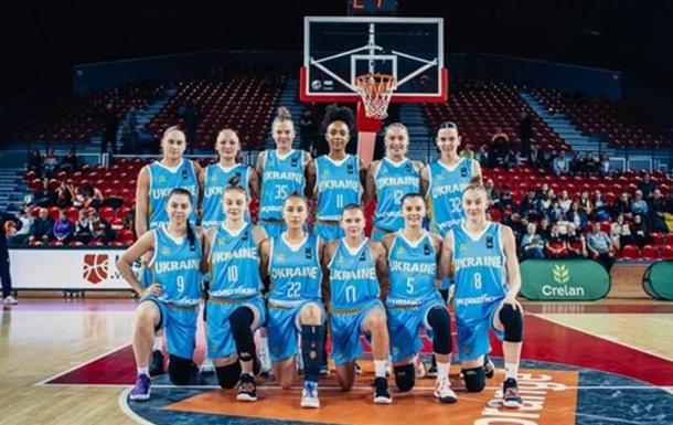 Украинские баскетболистки добыли первую победу в отборе на Евробаскет-2021