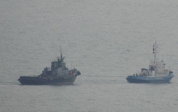 Повернення кораблів йде за планом - ВМС України