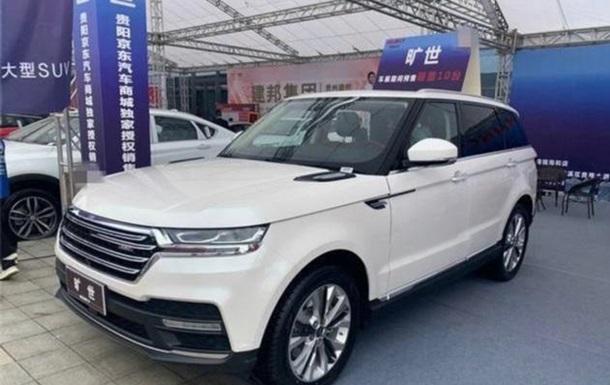 В Китае сделали копию Range Rover, в 10 раз дешевле оригинала