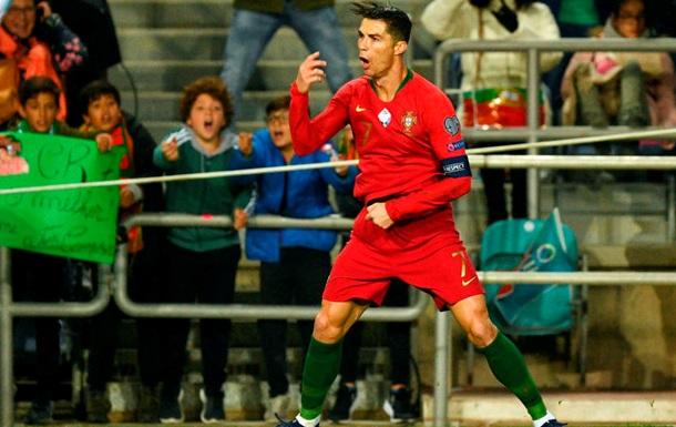 Роналду - про ймовірний світовий рекорд: Я поб ю його