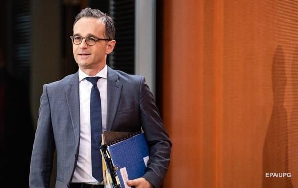 Глава МЗС Німеччини їде на Донбас
