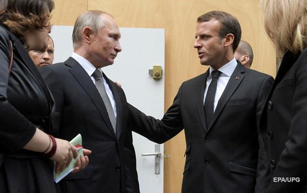 Макрон обсудил с Путиным возвращение кораблей