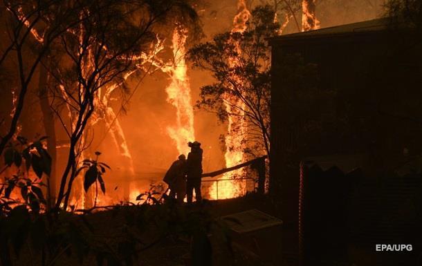 Сідней затягнуло димом через масштабну лісову пожежу