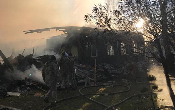 Названа возможная причина пожара в воинской части под Львовом