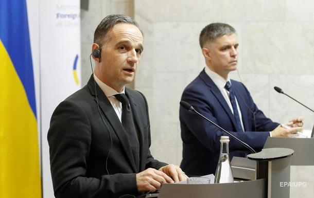 Германия уже помогла Украине на 1,2 млрд евро - Маас