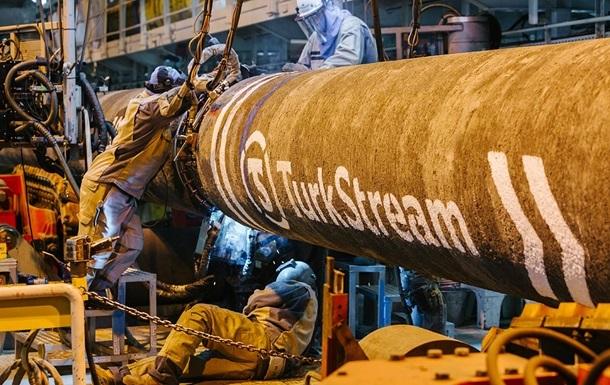 Турецький потік заповнили газом