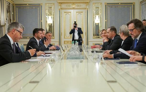 Зеленский провел встречу с главой МИД Германии