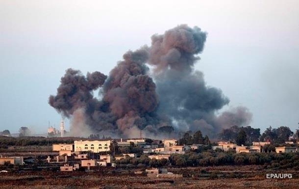 Ізраїль атакував Дамаск у відповідь на ракетний удар