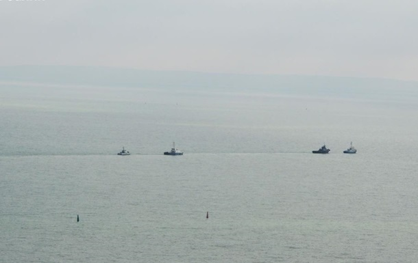 Опубліковано маршрут звільнених Росією кораблів