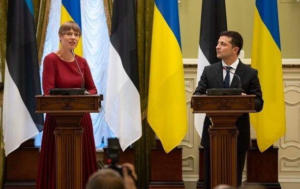 Зеленский собрался в Эстонию