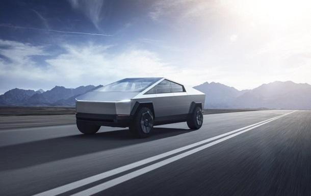 Tesla показала пикап из будущего Cybertruck