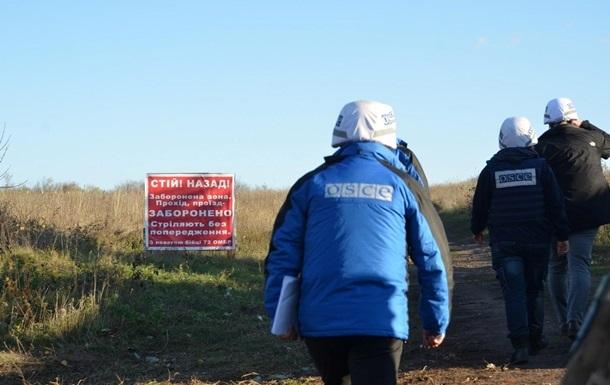 В ОБСЕ заявили о стрельбе в районе Петровского