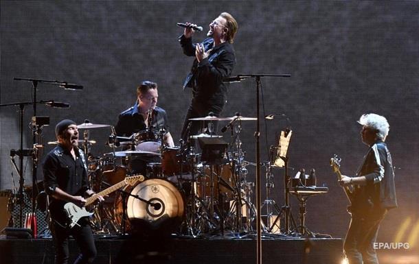 Гурт U2 назвали найприбутковішим за 10 років