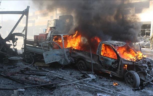 В Сирии 10 человек погибли при взрыве автомобиля