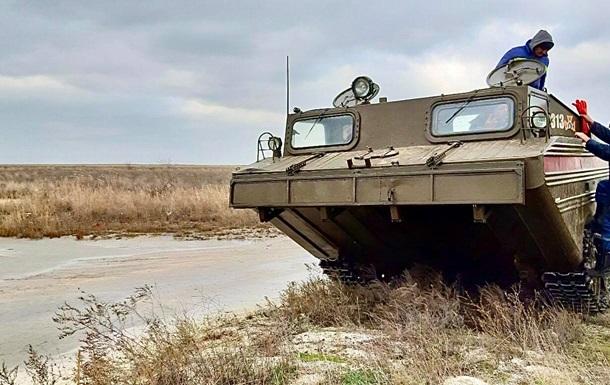 Шторм в Азовском море: на острове Бирючий возобновили эвакуацию